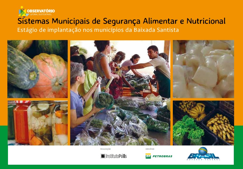 Sistemas Municipais de Segurança Alimentar e Nutricional: estágio de implantação nos municípios da Baixada Santista