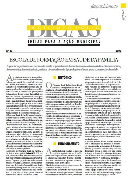 Escola de Formação em Saúde da Família