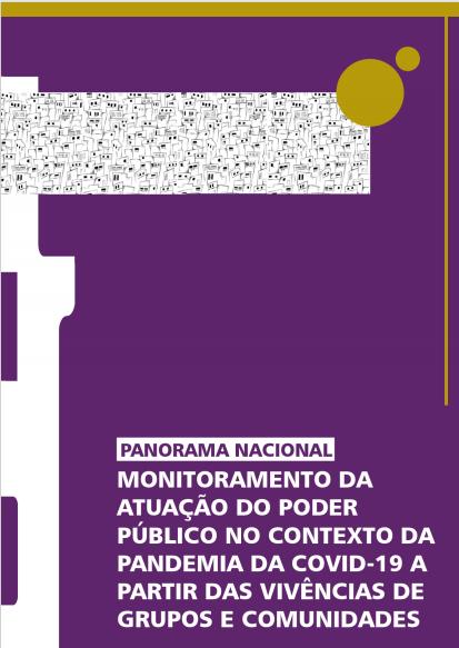 Panorama Nacional de monitoramento da atuação do poder público no contexto da Pandemia da Covid-19
